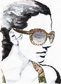 Etro Eyewear illustrated by Ivo Bisignano_low
