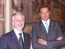 Stefano Perale e Samuele Sorato