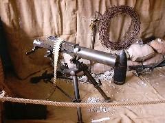 La mitragliatrice Schwarzlose rubata al Museo 7mo alpini