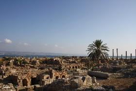 Antiche terme romane a Tiro