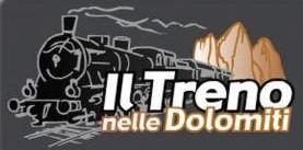 il treno nelle dolomiti