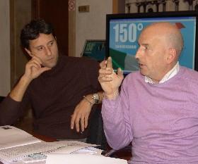 Piergiorgio Cortelazzo e Dario Bond