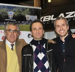 marino basso - daniele gusmerini (cycling team bellunese) - marco dal mas (shockblaze)
