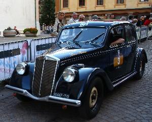 Canè Galliani su Lancia Aprilia '38