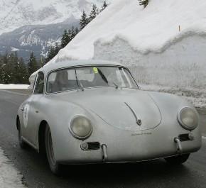Winterace Fontanella-Covelli  Porsche 356 A del 1955