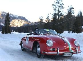Giudici e Confalonieri su Porsche 356 A Speedster
