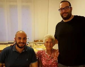Francesco Griffante, Luciana Facchin e Cristopher Scalabrini