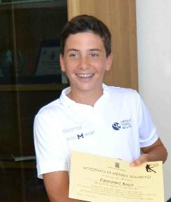 giovanni boco campione regionale tennis under 13