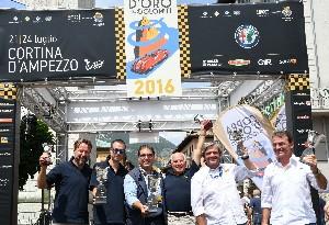 podio coppa d'oro 2016