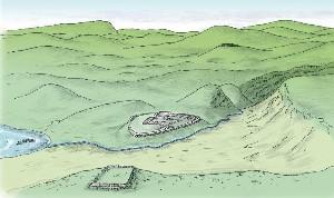 Ricostruzione accampamenti romani di Trieste