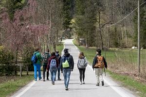 studenti Valle di San Lucano