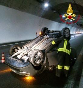 vigili del fuoco tunnel a27