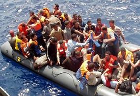 migranti-gommone